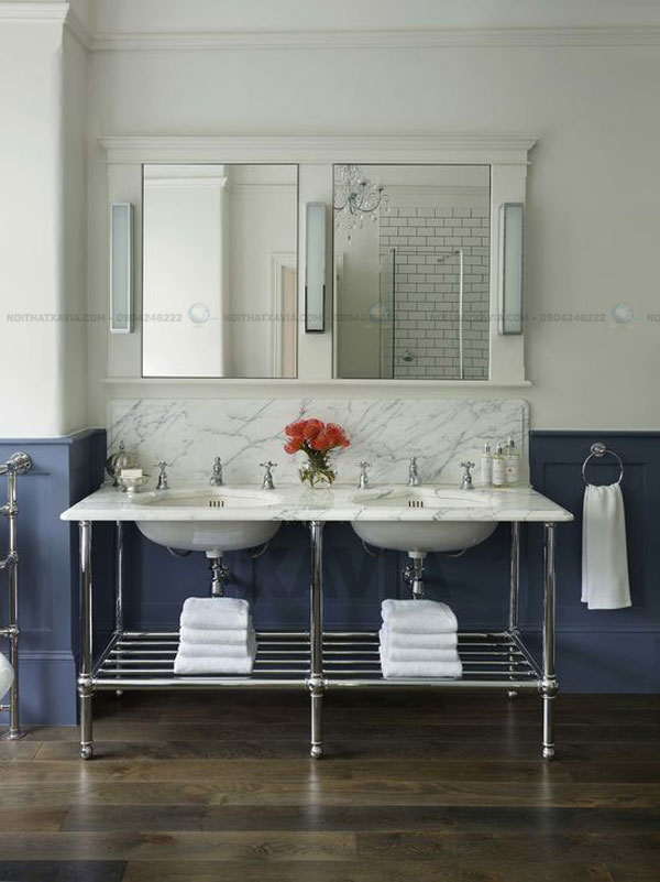 12 ý tưởng giúp tối ưu hóa không gian phòng tắm