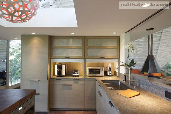 Giữ không gian bếp luôn sạch sẽ