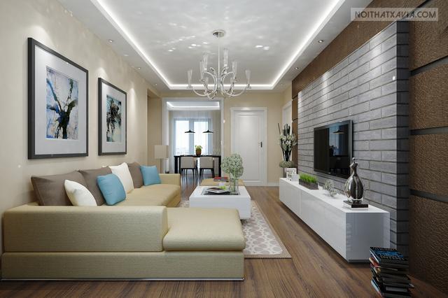 Thiết kế nội thất chung cư – Chị Thắm