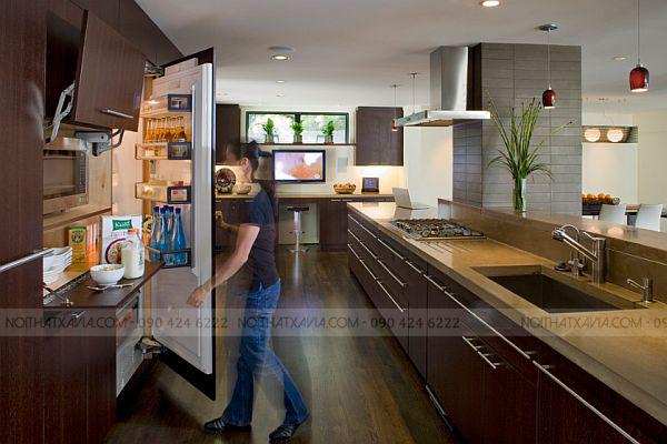 Hướng dẫn chọn tủ bếp đẹp bền mãi theo thời gian