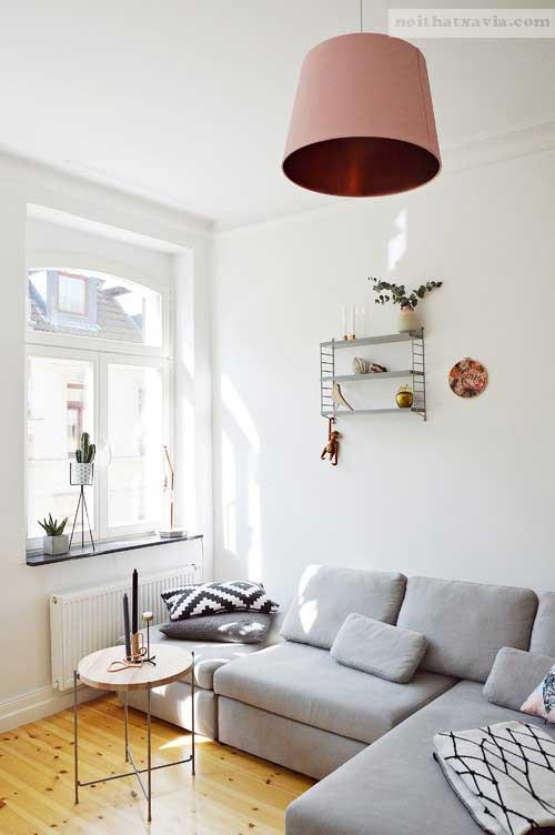 Ghế sofa không có tay vịn sẽ tiết kiệm diện tích