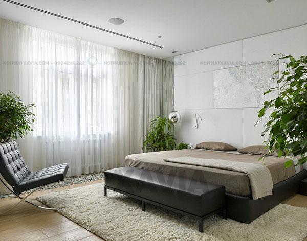 Phòng ngủ tông màu be