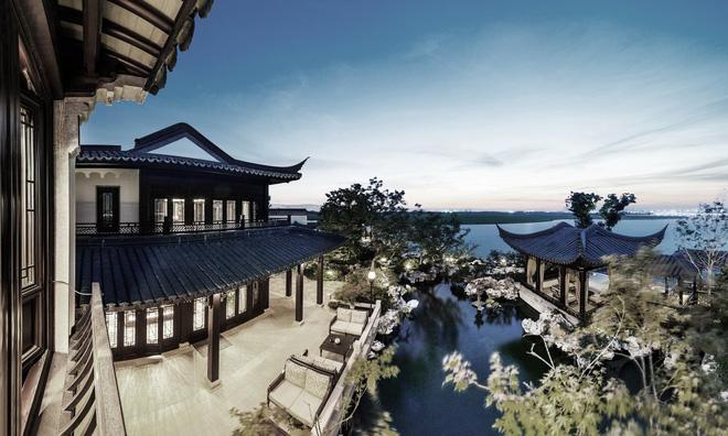 Thiết kế chủ yếu theo phong cách truyền thống của người Trung Quốc