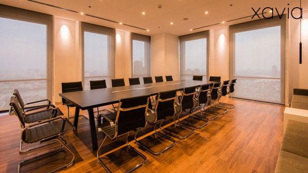 Báo giá thiết kế nội thất phòng họp hiện đại, sang trọng, tiện nghi