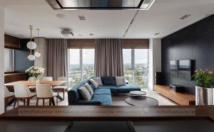 Thiết kế và thi công nội thất chung cư – căn hộ anh Tuấn