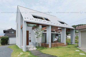 Thiết kế nhà ở cấp 4 đẹp vùng quê không khác gì resort