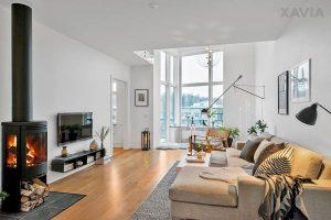 Thiết kế nội thất căn hộ 1 lầu – 1 tầng diện tích 5x20m theo phong cách Scandinavian