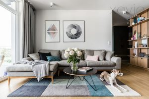 Thiết kế nội thất căn hộ chung cư 70m2 cho cặp vợ chồng trẻ