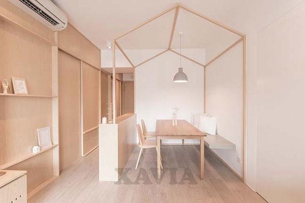 Thiết kế nội thất căn hộ chung cư 70m2 Star City Lê Văn Lương