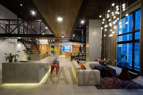 Thiết kế nội thất nhà đẹp 2 tầng lung linh tại Hà Nội