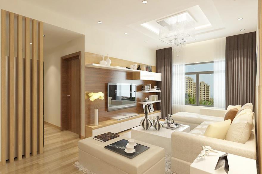 61 Mẫu phòng khách chung cư đẹp hiện đại