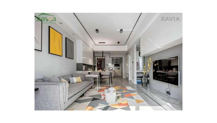 Chung cư 90m2 – Golden Land – thiết kế thi công trọn gói