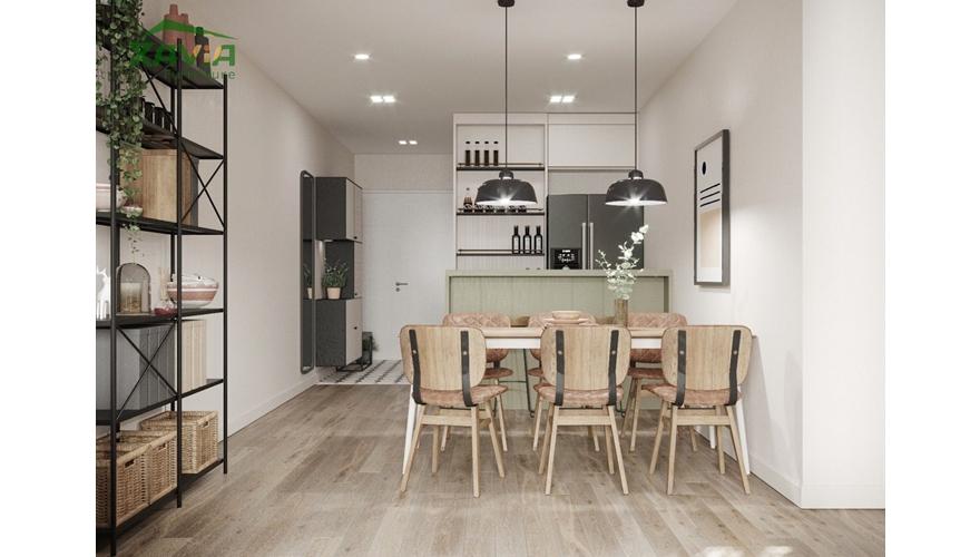 Nội thất chung cư phong cách Scandinavian – Thiết kế và thi công trọn gói