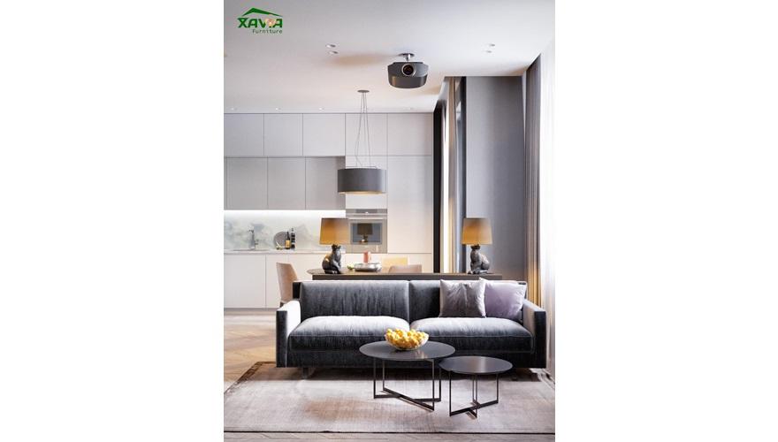 Chung cư 60m2 – TSQ Hà Đông – Thi công nội thất