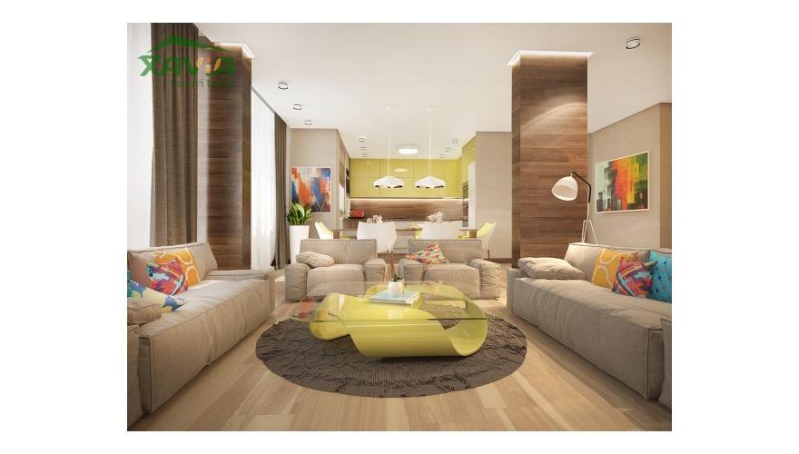Nội thất nhà liền kề – làng việt kiều Châu Âu – Sản xuất và thi công hoàn thiện