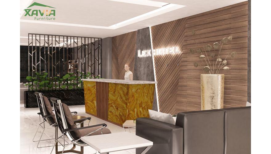 Thiết kế nội thất khách sạn Lex Hotel – Quảng Ninh