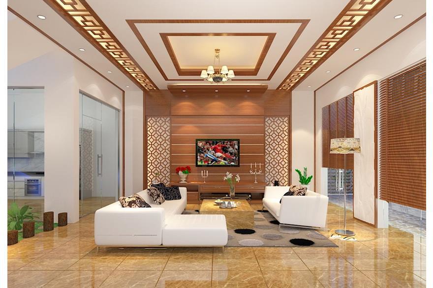 Gợi ý 76 mẫu phòng khách biệt thự đẹp sang trọng