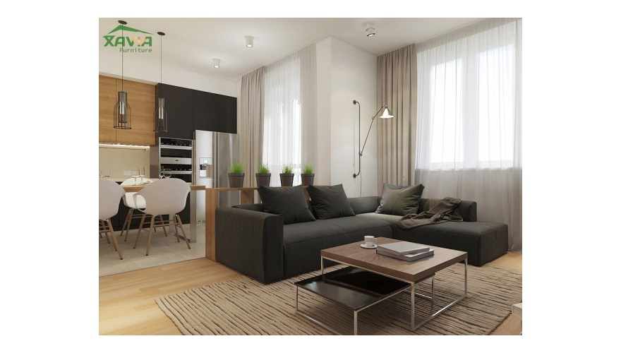Thiết kế thi công nội thất chung cư 50 m2 – FLC – Mỹ Đình – Hà Nội