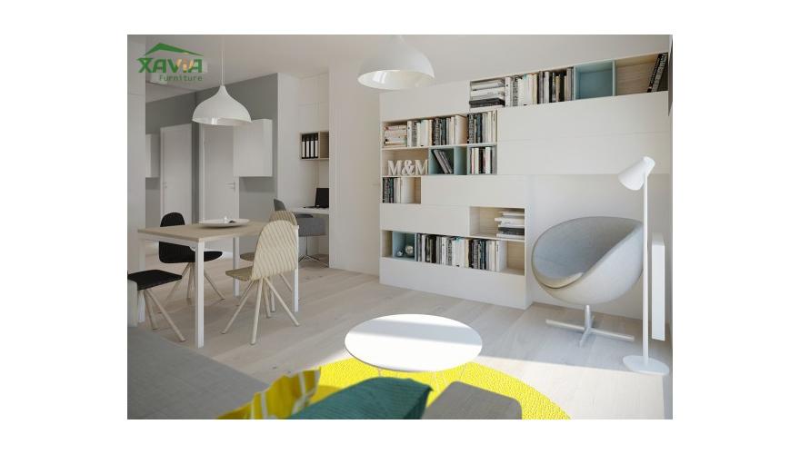 Thiết kế nội thất chung cư nhỏ 50m2 – Vinhomes Gardenia