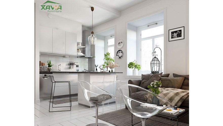 Thiết kế nội thất chung cư hiện đại căn 60m2 – Usilk Hà Đông