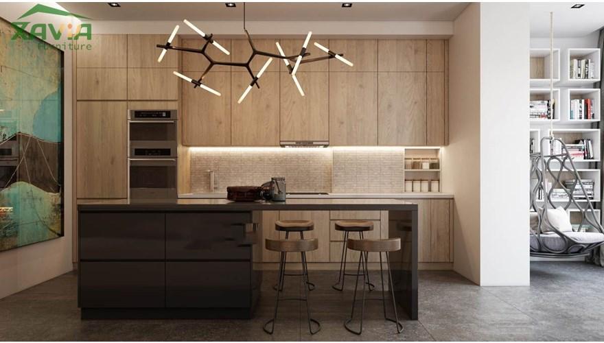 Thiết kế nội thất chung cư hiện đại 90m2 – New skyline – Văn Quán – Anh Long