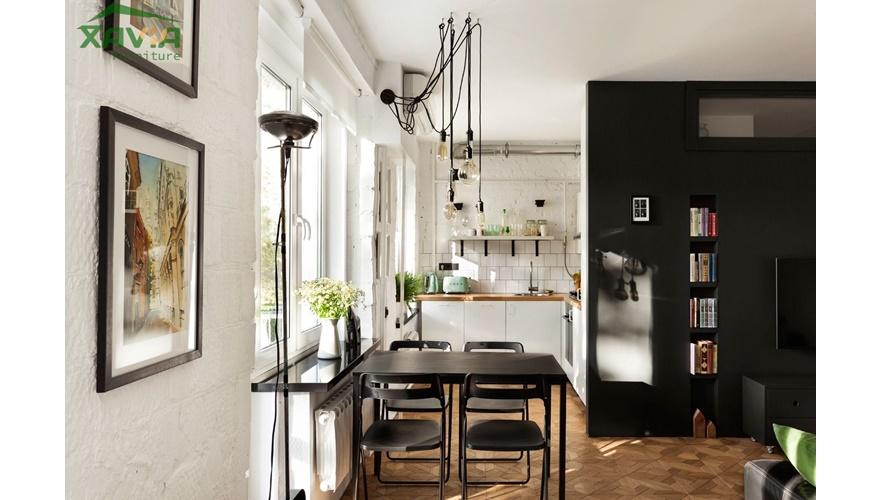 Thiết kế nội thất chung cư nhỏ – chung cư mini – Thanh Xuân