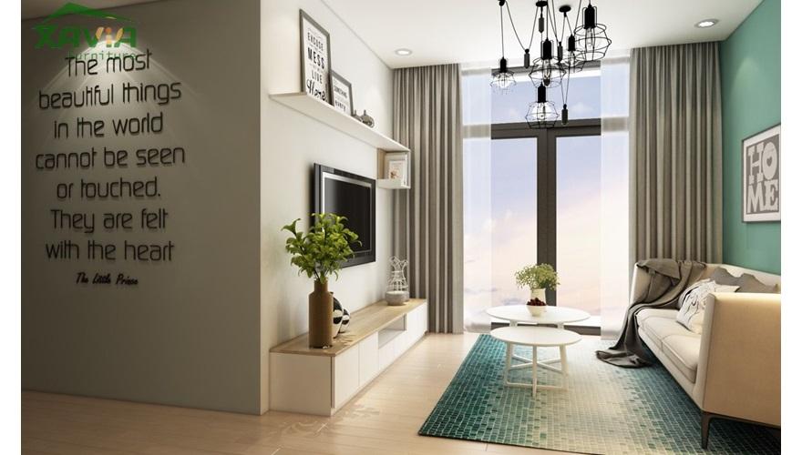 Thiết kế thi công nội thất chung cư Sunsquare Lê Đức Thọ
