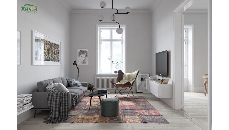 Thiết kế thi công nội thất chung cư 70m2 – IPH Cầu Giấy