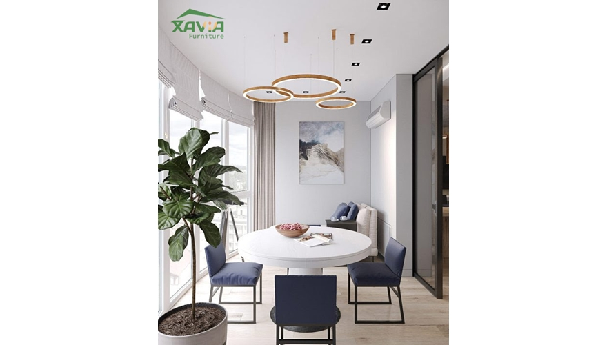 Thiết kế nội thất chung cư 70m2 D'Capital Trần Duy Hưng – anh Khải