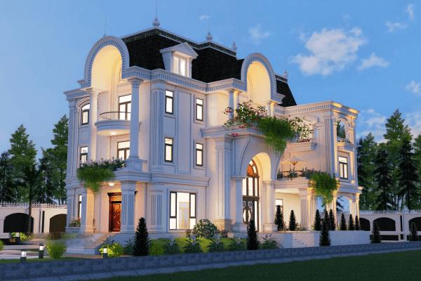 23 mẫu thiết kế kiến trúc biệt thự đẹp 2019
