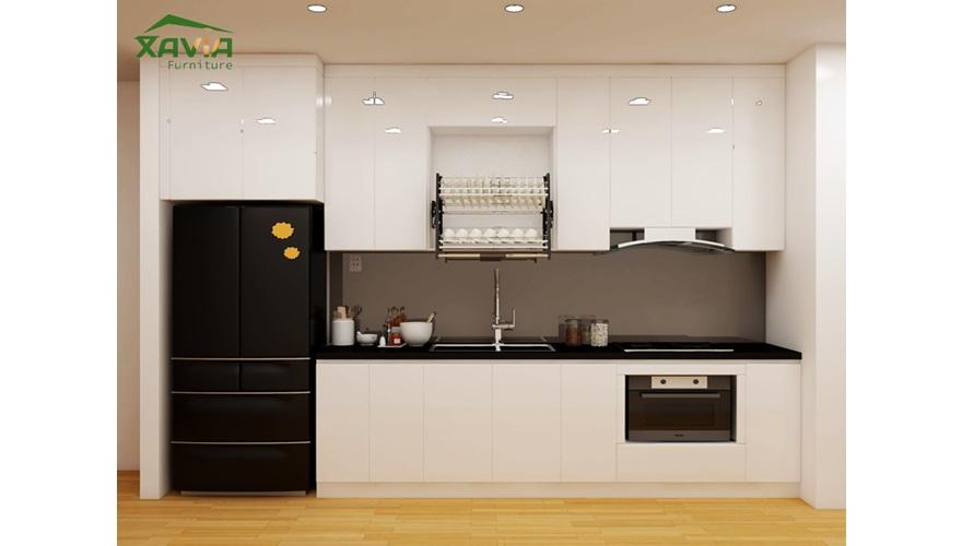 Tủ bếp anh Cầu – Chung cư Gamuda – Hoàng Mai – Hà Nội