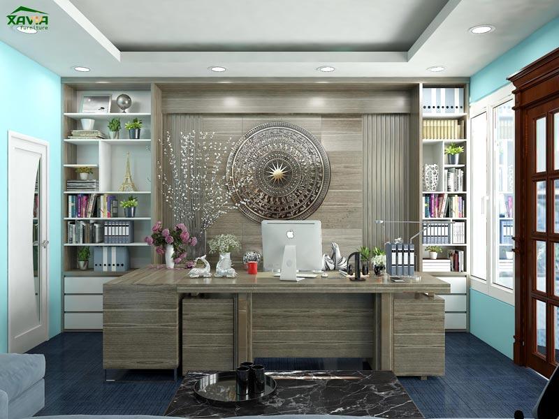 Thiết kế – thi công nội thất văn phòng Việt Hưng Company – Vạn Phúc – Hà Đông