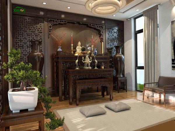 8 vị trí đặt bàn thờ gia tiên trong nhà cần tuyệt đối tránh